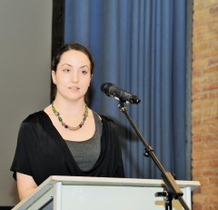 Sara Thornton speaking at the International School of Hilversum IB graduation ceremony (2017). Photos by Christel Bisman