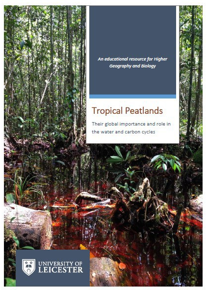 Tropical peatland resource front cover